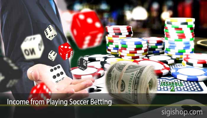 Income from Playing Soccer Betting